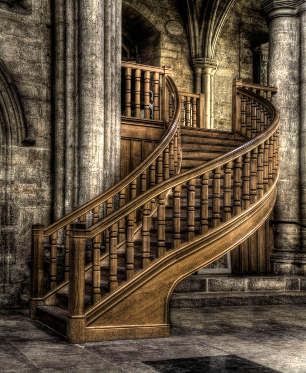 1st - Library Staircase, Ripon by John Jolliffe